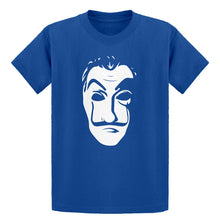Youth Salvador Dali Face Heist Mask Kids T-shirt