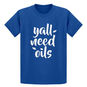 Youth Yall Need Oils Kids T-shirt