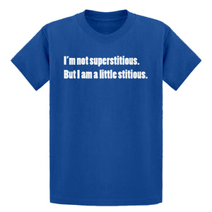 Youth I'm not superstitious Kids T-shirt