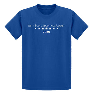 Youth Any Functioning Adult Kids T-shirt