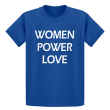 Youth Women Power Love  Kids T-shirt