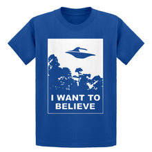 Youth I Want to Believe Kids T-shirt