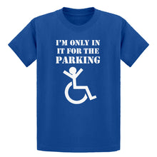 Youth Disabled Parking Kids T-shirt