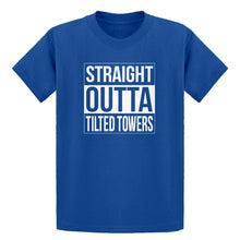 Youth Straight Outta Tilted Towers Kids T-shirt