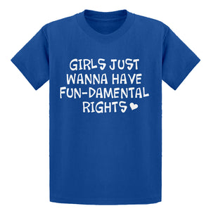 Youth Girls Wanna Have Fundamental Rights Kids T-shirt
