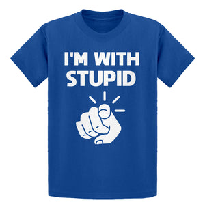 Youth I'm With Stupid You Kids T-shirt