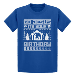 Youth Go Jesus Its Your Birthday Kids T-shirt