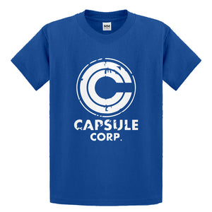Youth Capsule Corp Kids T-shirt