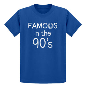 Youth Famous in the 90s Kids T-shirt