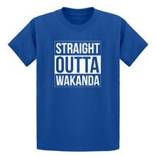 Youth Straight Outta Wakanda Kids T-shirt