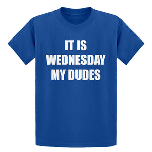 Youth It is Wednesday My Dudes Kids T-shirt