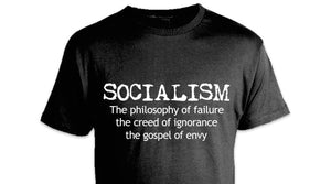 Winston Churchill Anti-Socialism Quote Tee