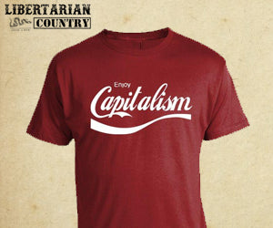 Enjoy Capitalism Shirt