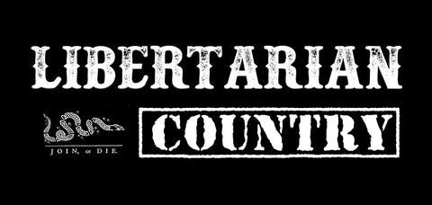 Libertarian Country Logo Black