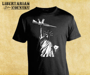 Statue of Liberty with AR15 Shirt