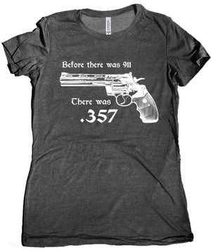 357 Magnum Women's Tee by Libertarian Country