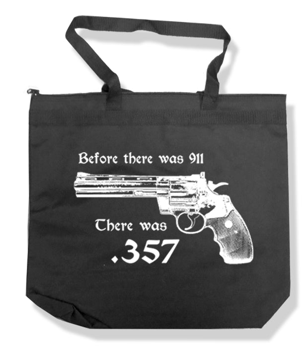 357 Magnum Tote Bag by Libertarian Country
