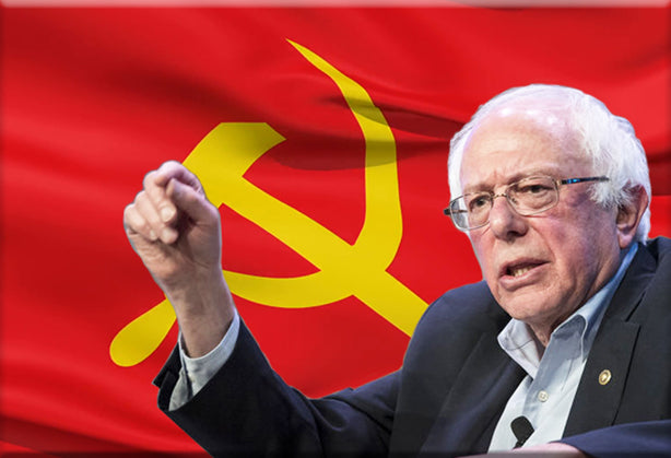 Bernie Commie Sanders Magnet by Libertarian Country