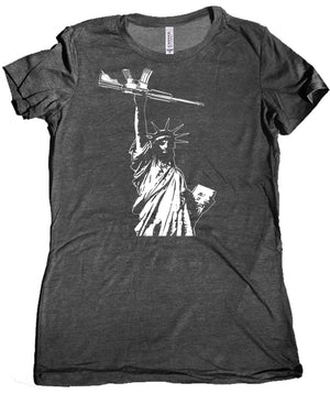 Statue of Liberty AR 15 Ladies Tee
