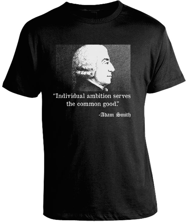 Adam Smith T-Shirt by Libertarian Country