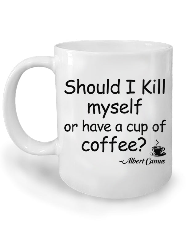 Albert Camus Coffee Mug
