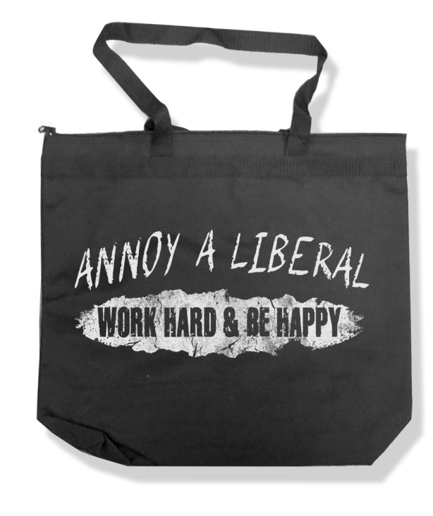 Annoy a Liberal Tote Bag by Libertarian Country