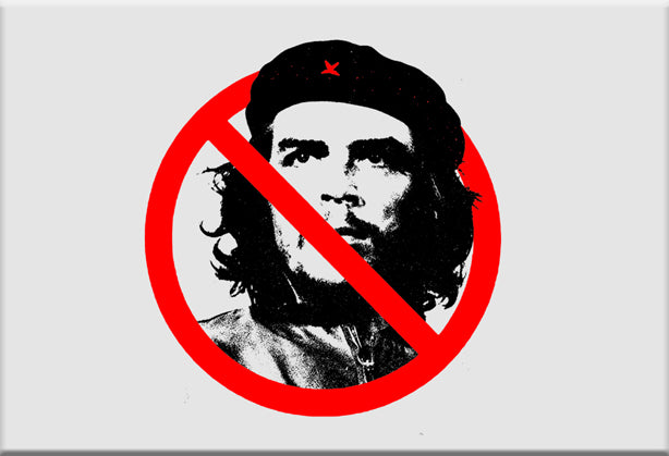 Anti Che Guevara Magnet by Libertarian Country