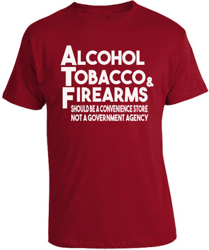 ATF-Alcohol Tobacco & Firearms T-Shirt