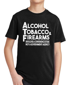 ATF Youth T-Shirt by Libertarian Country