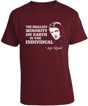 Ayn Rand Quote T-Shirt By Libertarian Country
