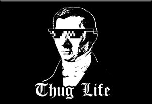 Bastiat Thug Life Magnet by Libertarian Country