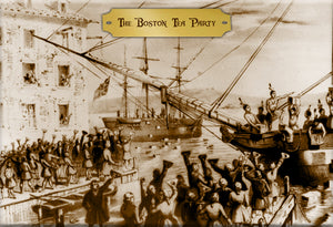 Boston Tea Party Magnet by Libertarian Country