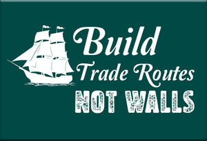 Build Trade Routes Magnet by Libertarian Country