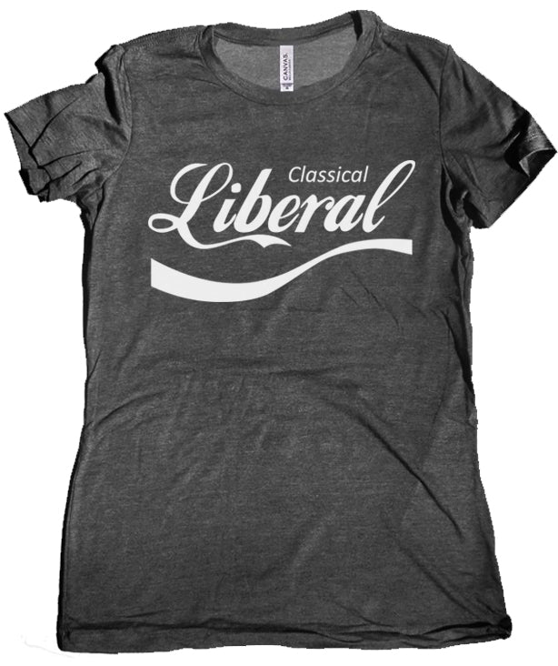 Classical Liberal Premium Women's Tee by Libertarian Country