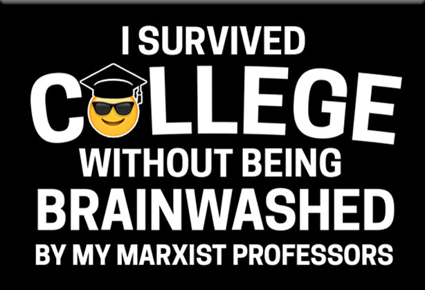 I Survived College Libertarian Magnet