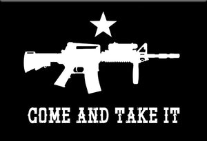 Come and Take it Magnet by Libertarian Country