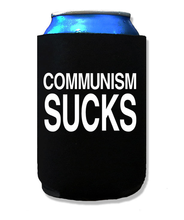 Communism Sucks Koozie by Libertarian Country