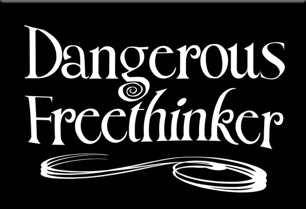 Dangerous Freethinker Magnet by Libertarian Country