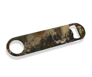 Declaration of Independence Signing Bottle Opener