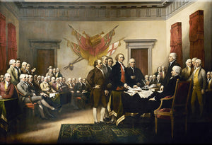 Signing of the Declaration of Independence Magnet by Libertarian Country