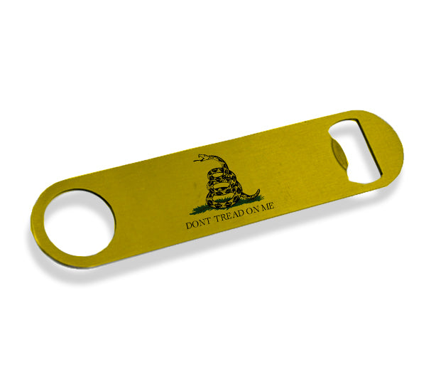 Don't Tread on Me Bottle Opener