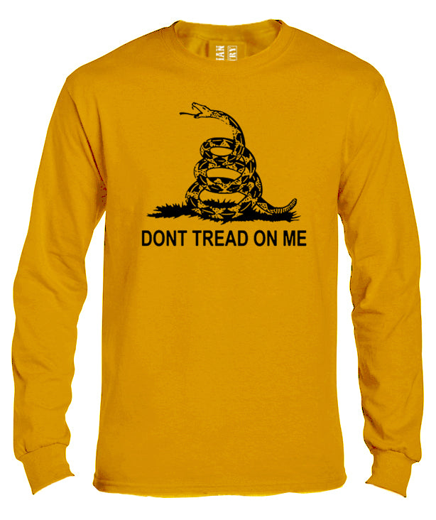Gadsden Flag Long Sleeve Shirt by Libertarian Country