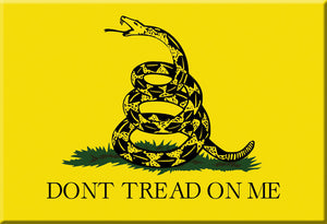 Don't Tread on Me Magnet by Libertarian Country