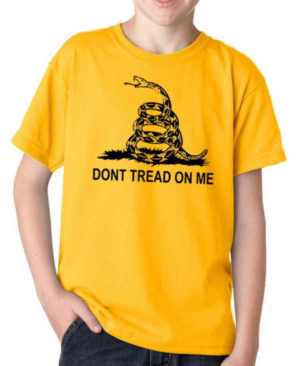 Don't Tread on Me Youth T-Shirt by Libertarian Country