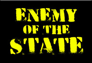Enemy of the State Magnet by Libertarian Country