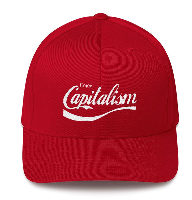 Enjoy Capitalism Hat by Libertarian Country