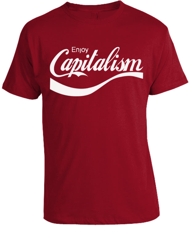 Enjoy Capitalism Shirt by Libertarian Country