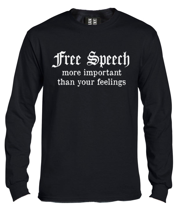 Free Speech Long Sleeve Shirt