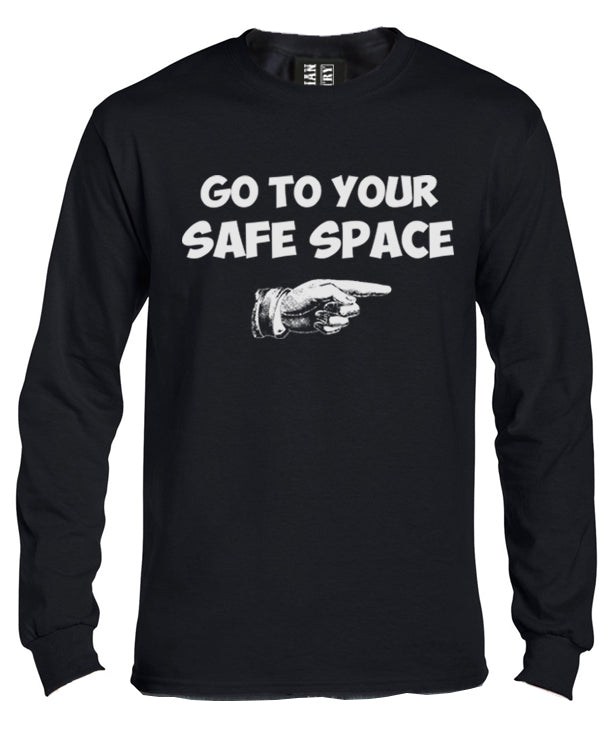 Go to your Safe Space Long Sleeve Shirt