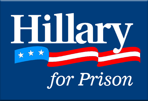 Hillary for Prison Magnet by Libertarian Country
